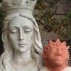 Pobre Jesus! Estátua de Cristo recebe restauração bizarra no Canadá