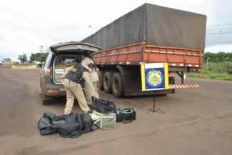 Douradense é preso pela PRF transportando 306 kg de maconha