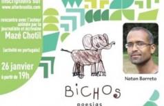 Encontrando no Alter'Brasilis Natan, poeta, ator e tradutor