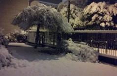 Paris sob neve, depois do Natal!