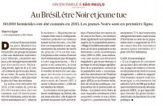 Jornal francês fala do aumento da violência no Brasil