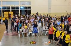 Encontro religioso no Pavilhão de Eventos: Dom Teodardo Leitz
