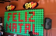 Confraternização equipe 94 FM Dourados
