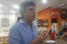 Murilo Zauith foi questionado sobre pretensões políticas por jornalista em Campo Grande (Foto: www.marcoeusebio.com.br)