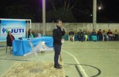 Marçal esteve em Juti para inaugurar quadra poliesportiva coberta
