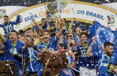 Foto: Reuters ---  Cruzeiro é campeão da Copa do Brasil pela quinta vez