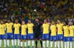 Brasil já está classificado para a Copa da Rússia --- Foto: Lucas Figueiredo/CBF
