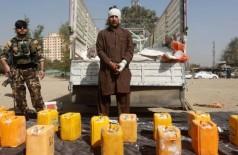 Suspeito foi capturado na região de Cabul, capital do Afeganistão -- Foto: OMAR SOBHANI / REUTERS