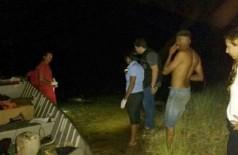 Corpo de jovem foi encontrado quase quatro horas depois do afogamento, no rio Paraná. (Foto: JP News)