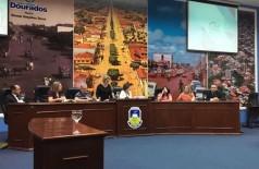 Audiência pública do TCE acontece na Câmara de Vereadores de Dourados (Foto: 94FM)