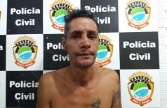 Marcos Adriano, já tem passagens por tentativa de homicídio e furto. Foto: Sidnei Bronka