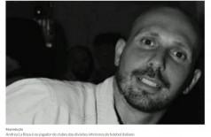 Ex-jogador é encontrado morto dentro de porta-malas de carro