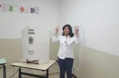 Délia Razuk segue no comando da Prefeitura de Dourados após ter nova vitória na Justiça Eleitoral (Foto: André Bento)