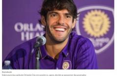 Kaká anuncia aposentadoria no futebol e fala em futuro como dirigente esportivo (Foto: reprodução/iG)