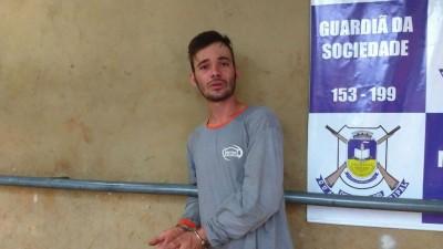Thiago oliveira Souza, de 27 anos, morador no bairro João Paulo II (Foto: Sidnei Bronka)