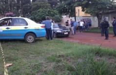 O crime aconteceu na Vila Reno - Foto: Tião Prado-Ponta Porã Informa