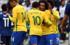 Brasil fará jogos nas semanas anteriores à estreia (Denis Charlet/