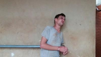 Joabes foi preso nesta sexta-feira após cair de muro quando fugia de empresa (Foto: Sidnei Bronka/Arquivo)