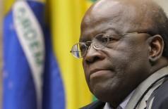 Joaquim Barbosa diz que não será candidato à Presidência da República (Foto: Fellipe Sampaio/STF)