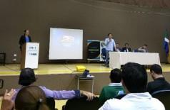 """Palestra do diretor-presidente da Fundesporte abordou o tema """"Atuação do Profissional de Educação Física na Escola"""" (Foto: Divulgação)"""