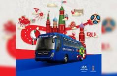 Ônibus da seleção para a Copa do Mundo FIFA 2018 (//Divulgação)