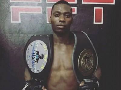 Neste sábado ele busca mais uma vitória, na competição de MMA, na categoria 57 quilos (Foto: divulgação/Roberto Martine)