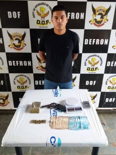 Igor foi preso nesta quarta-feira por policiais da Defron e do DOF (Foto: Divulgação)