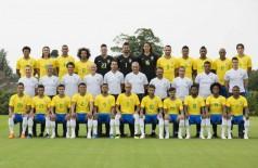 Foto oficial da seleção brasileira para a Copa do Mundo na Rússia - Lucas Figueiredo/CBF