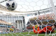 Copa 2018, México e Suécia, Gol Suécia REUTERS/Andrew Couldridge - ANDREW COULDRIDGE