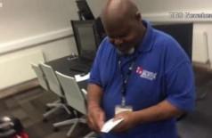 Estudantes juntam dinheiro para dar viagem a faxineiro