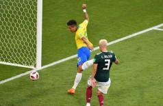 Firmino fez o segundo gol do Brasil na vitória contra o México (Foto: © Getty Images)
