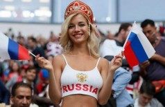 Torcedora russa negou ser atriz pornô (Crédito: FIFA)