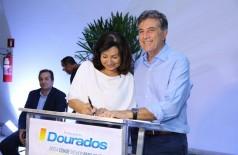 Ex-prefeito Murilo Zauith foi elogiado por Délia durante a transição de governos, no final de 2016 (Foto: A. Frota)