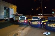 Durante as apreensões, três pessoas foram presas. A operação continua (Foto: Adilson Domingos)
