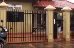 Ceim Pequeno Príncipe, no Santo André, funciona em imóvel alugado desde 1994 (Foto: Reprodução/TV Rit)