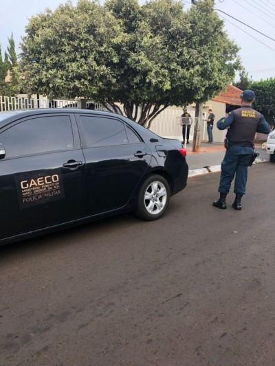 Gaeco cumpriu mandados de prisão em MS e outros seis estados (Foto: Ana Paula Leite/MPE-MS)