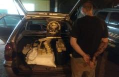 Homem de 34 anos alegou que traficava drogas para pagar dívida com traficantes (Foto: Divulgação/DOF)