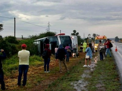 As causas do acidente estão sendo investigadas (Foto: redação/94FM)