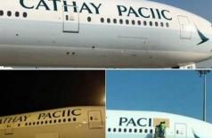 'Paciic' Foto: Reprodução/Twitter(Cathay Pacific)
