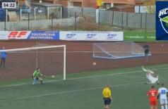 Russo surpreende goleiro ao cobrar pênalti com salto mortal - Foto: Reprodução/ YouTube