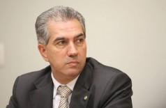 Azambuja pediu o voto de confiança da população no segundo turno para mais quatro anos de trabalho no estado (Foto: George Gianni/PSDB)