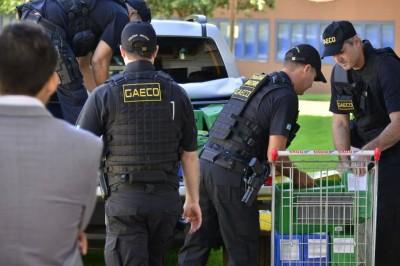 Documentação apreendida pelo Gaeco na Prefeitura de Dourados foi enviada pelo MPE à Justiça (Foto: Eliel Oliveira)