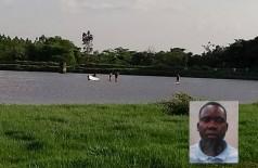 O moçambicano desapareceu ontem enquanto tomava banho no lago - foto: divulgação/94FM