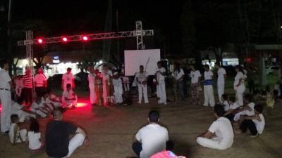 Atividades realizadas no ano passado, na primeira edição da Noite Cultural (Foto: Onildo Lopes/Divulgação)