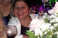 Professora Mara foi atingida durante batida entre dois carros - Foto: Reprodução/Facebook