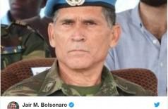 Carlos Alberto dos Santos Cruz é escolhido novo secretário de governo (Foto: reprodução/Twitter-Pre si)
