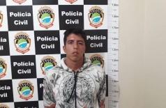Marcos foi preso em Glória de Dourados (Foto: 94FM)