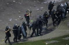 Confusão em Buenos Aires (Crédito: ALBERTO RAGGIO / AFP)