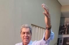 Ex-governador André Puccinelli foi solto após 5 meses preso (Foto: André Bento/Arquivo)