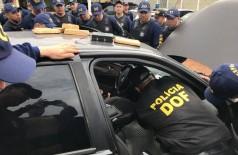 Além da atuação policial na fronteira, DOF é referência em cursos para policiamento no Brasil (Foto: Divulgação/DOF/Sejusp)